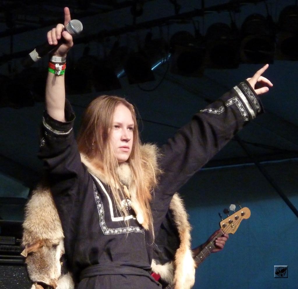 Arkona  Masha Scream  Metalfest Open Air Hungary 2010