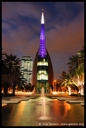 The Swan Bell Tower At Night Perth WA Australia Flickr