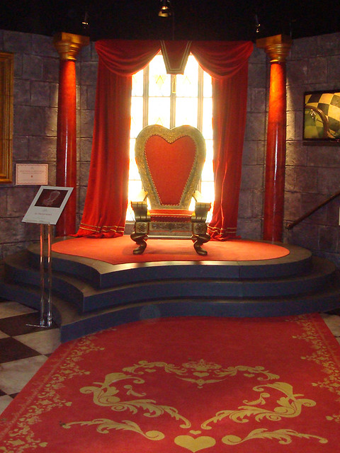 Trono De La Reina Roja A Marga Flickr