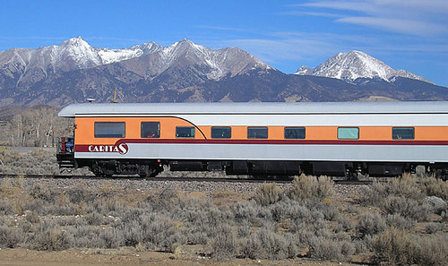 Private Rail Car  Caritas USA  The Caritas is an art
