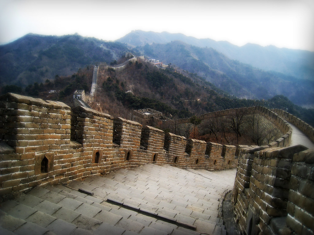 Iphone 5 Wallpaper Landscape A Sinuous Serpent The Great Wall Of China Northern Chi