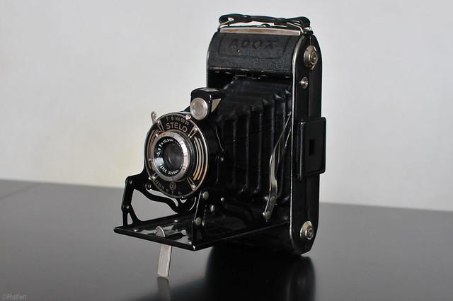 Adox Stelo Folding Camera This Old Adox Stelo 6x9 Medium
