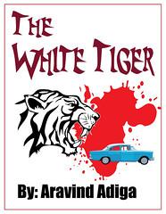 White Tiger Book cover ReIllustration djvlad79 Flickr