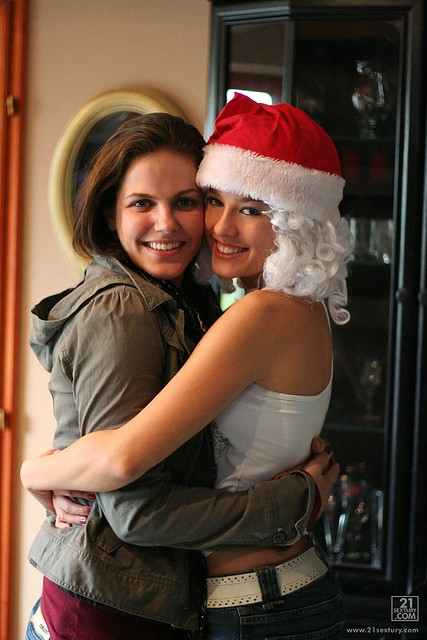 445062  with Bobbi Starr me as Santa Claus  Blue Angel  Flickr