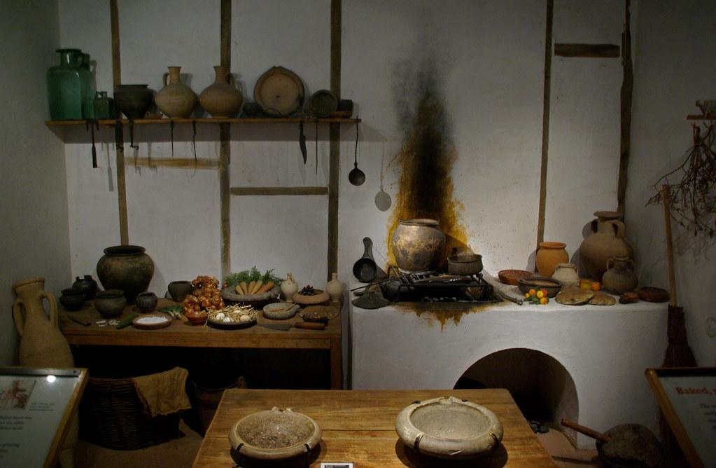 Reconstrucci duna cuina romana Museum of London  Flickr