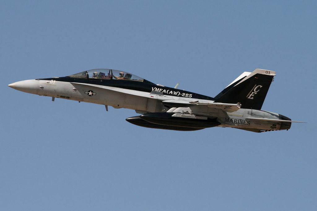 McDonnellDouglas FA18D Hornet BuNo 165684 VMFAAW225