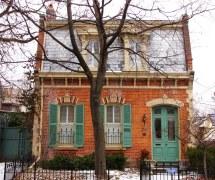 Victorian Style Brick House