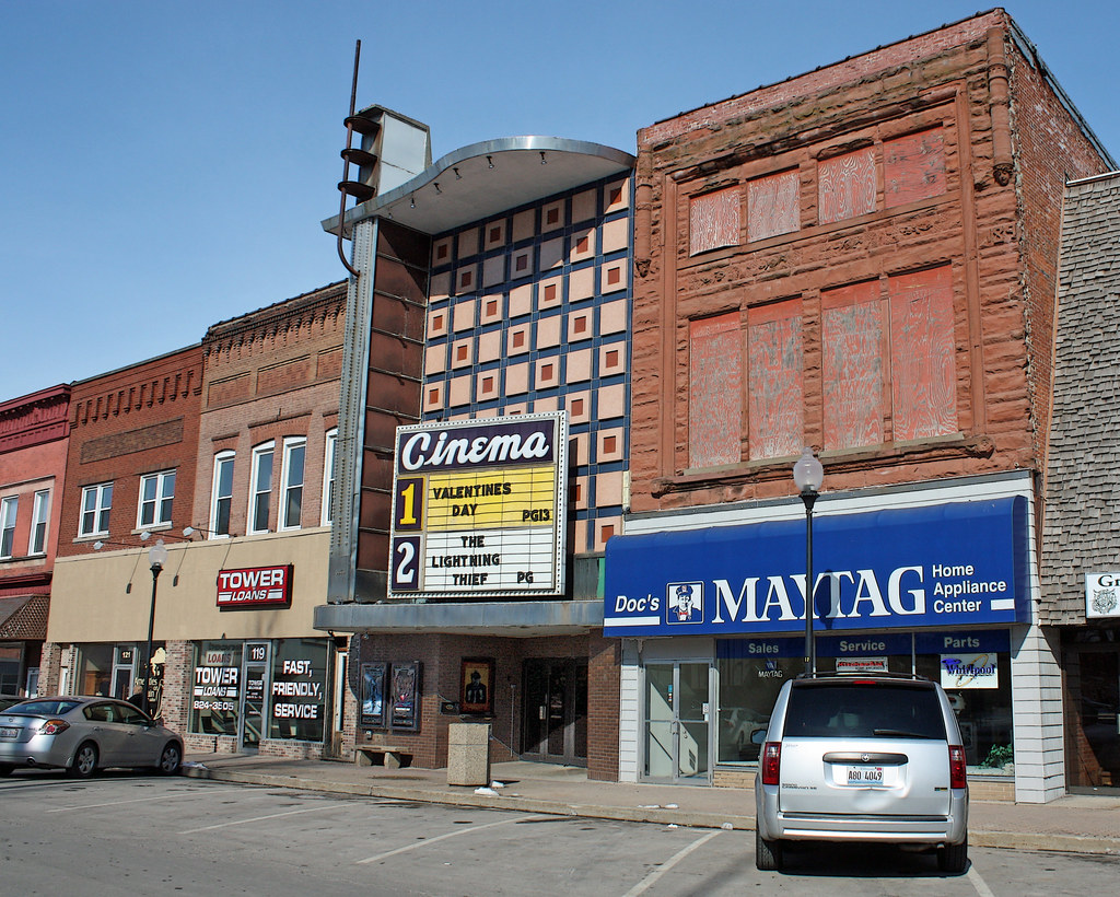 Taylorville IL  Kerasotes Cinema Theater North Side of C