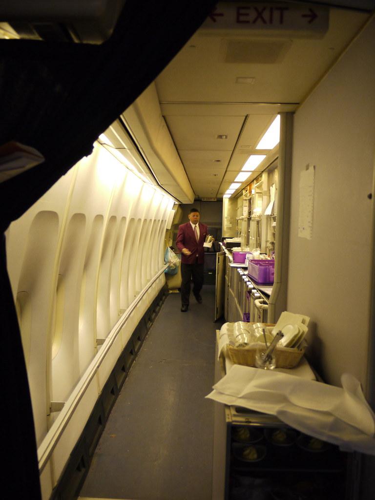 Thai Airways 747400 Galley  74salt  Flickr