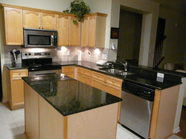 design kitchen cabinets spoon rest uba tuba granite countertop installed in charlotte nc | flickr