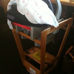 Seat High Chair Office Wheel Replacement Infant Car For Relaxed Resturant Dining Flickr By Wayan Vota