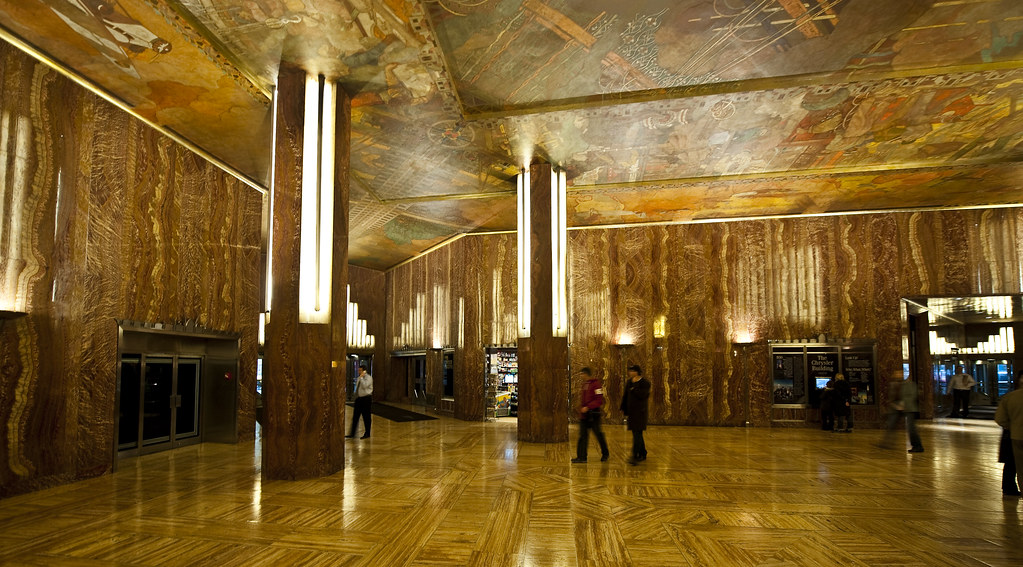 The Chrysler Building NYC  Interior  The most beutiful