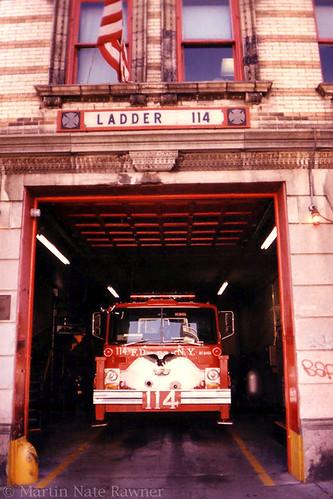 FDNY Ladder 114  TallyHo  FDNY Ladder 114  Semi