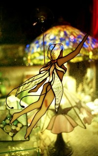 Stained Glass Fairy   Very pretty piece and I like the ...