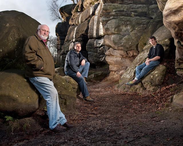 Three Generations of Climbing  Terry Tullis his son