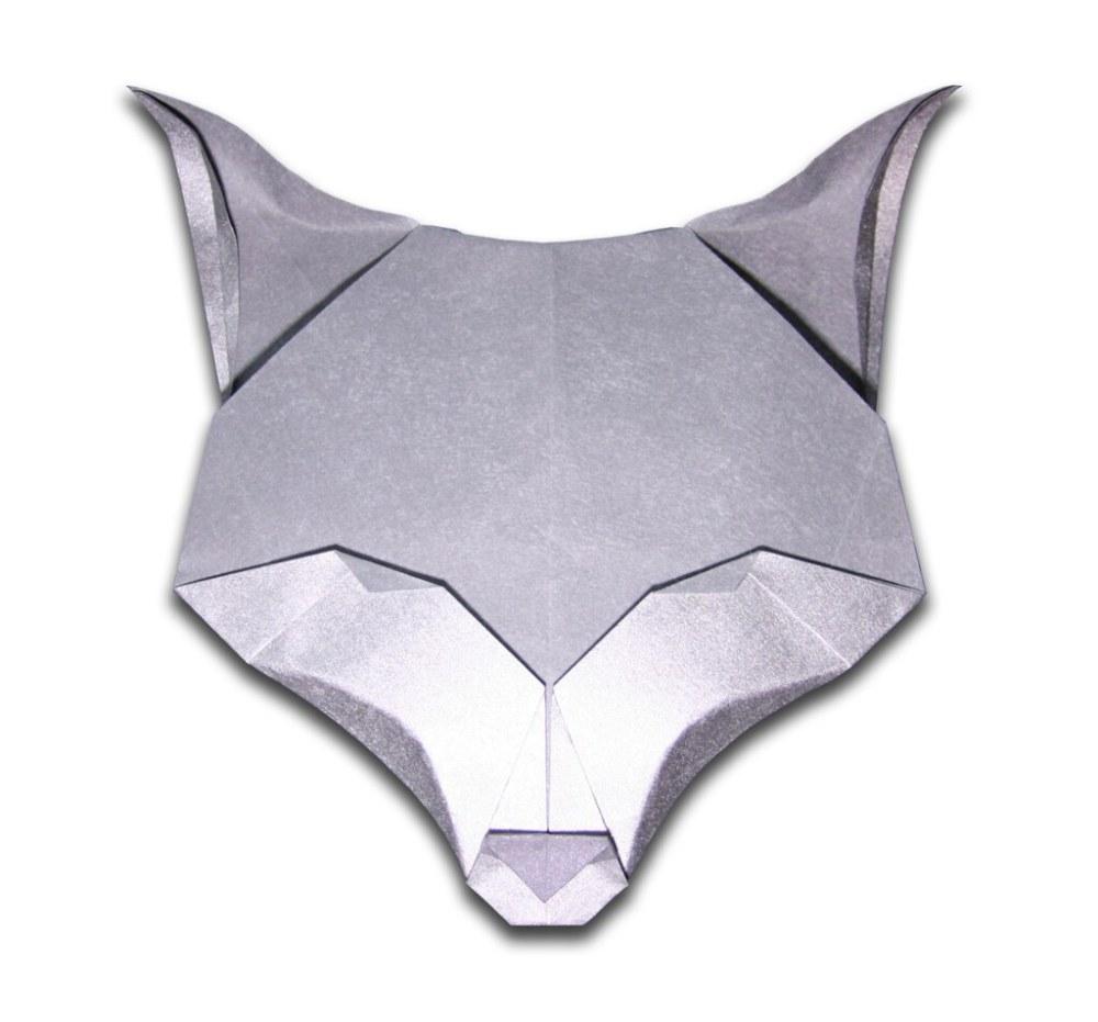 medium resolution of fox evan zodl designed and folded november 2010 origami fox body easy origami fox diagram