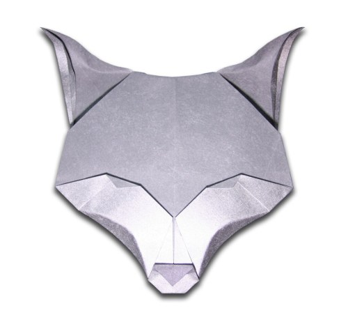 small resolution of fox evan zodl designed and folded november 2010 origami fox body easy origami fox diagram