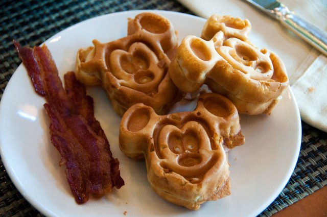 Special Mickey breakfast