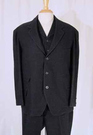 Vintage 1900s Mens 3 piece suit Edwardian Dated 1905  Flickr
