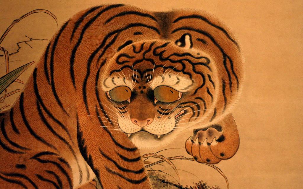 Tiger Animal Wallpaper 3d Japanese Tiger Wallpaper 1920 X 1200px A Japanese Tiger