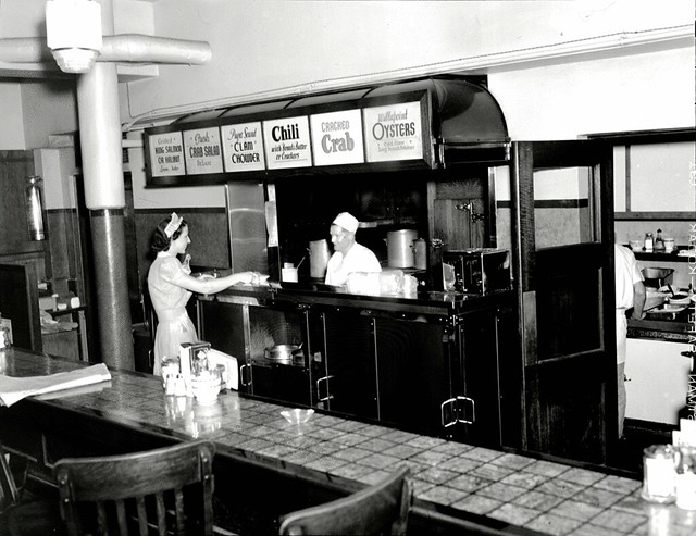 Ben Paris Kitchen 1940  Located at 120 Pike Street Item