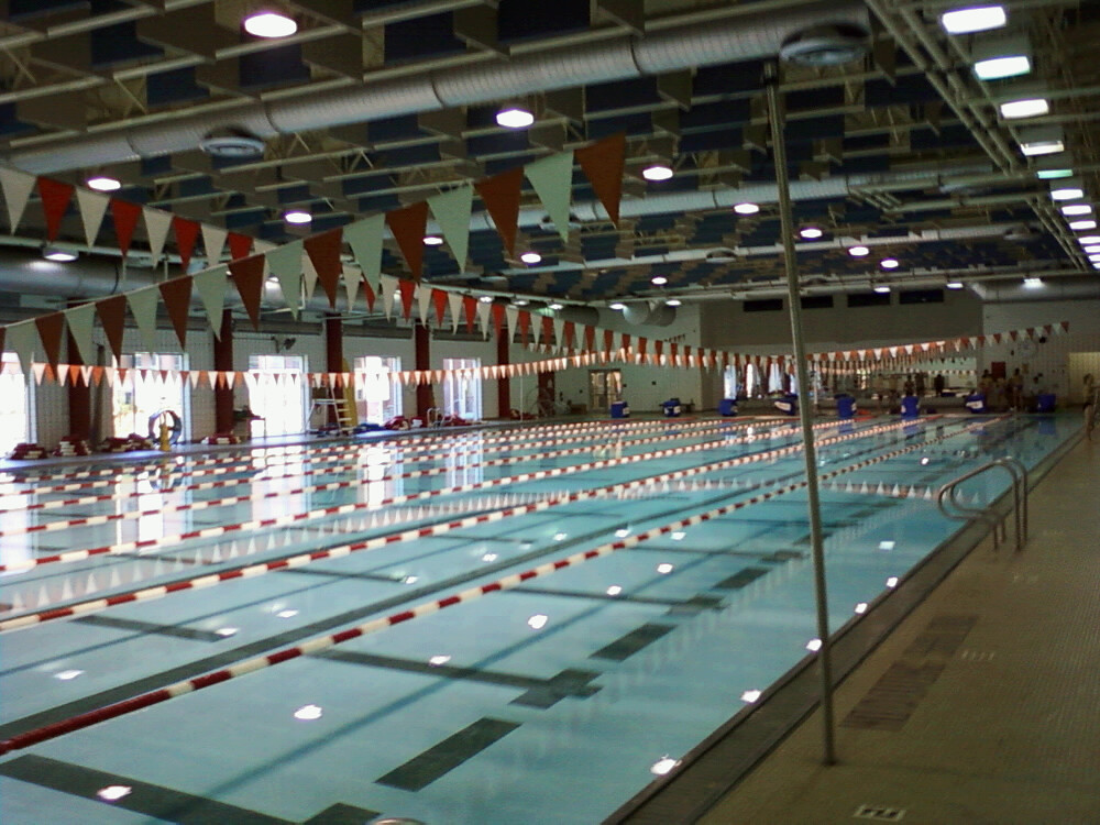 Pool at NCSU Carmichael Gymnasium  Cats Saturday