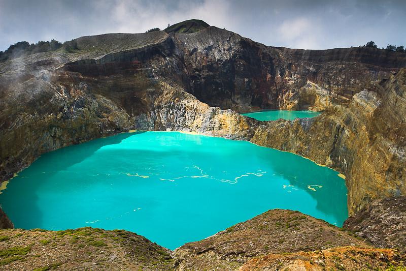 Gunung Kelimutu lakes  Gunung Kelimutu is one of the