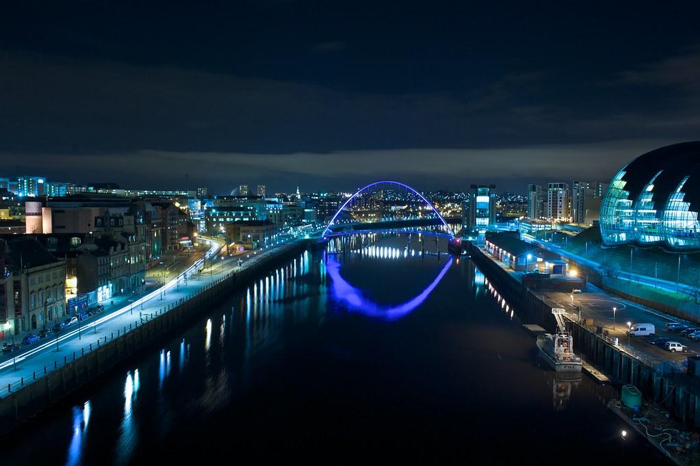 Newcastle Skyline Rob Sinclair Flickr