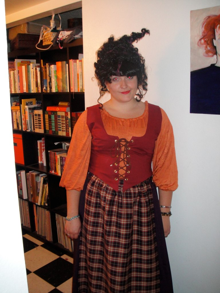 mary sanderson costume  handmade costume created by