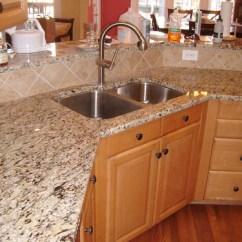Kitchen Cabinets Online Design Vinyl Flooring For Santa Cecilia Granite With Tile Backsplash - Charlotte, Nc ...