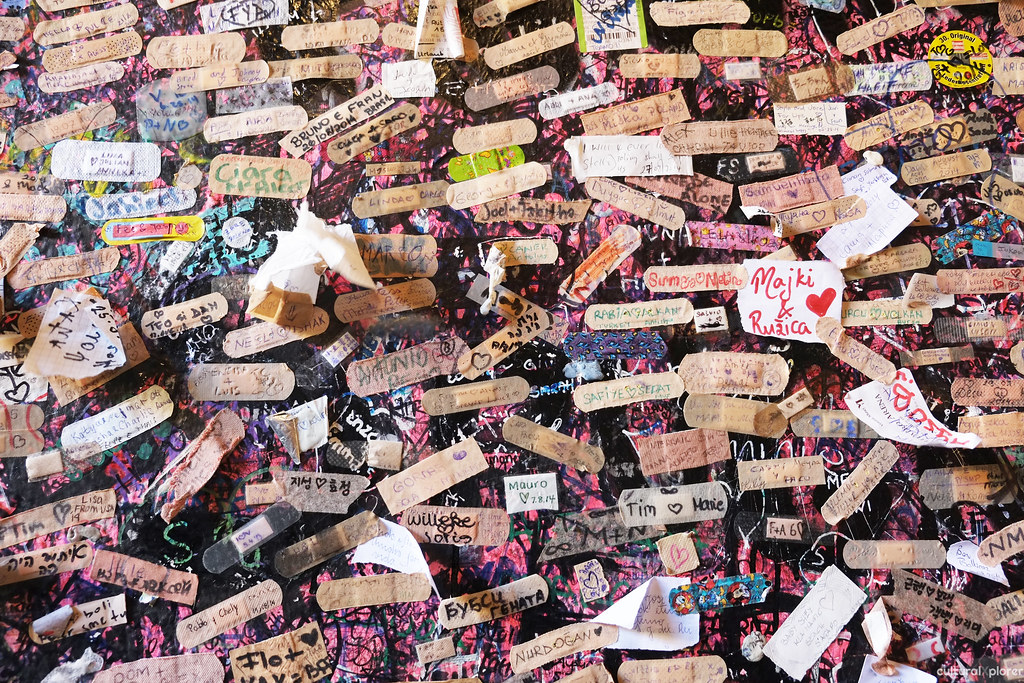 Bandaids Juliet's Wall Verona