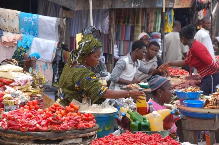 Image result for nigeria market