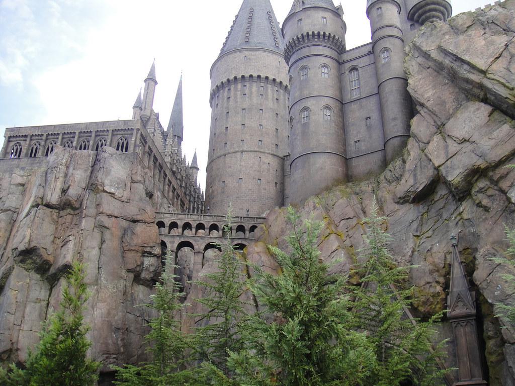 Wizarding World Of Harry Potter Hogwarts Castle Close Up Flickr
