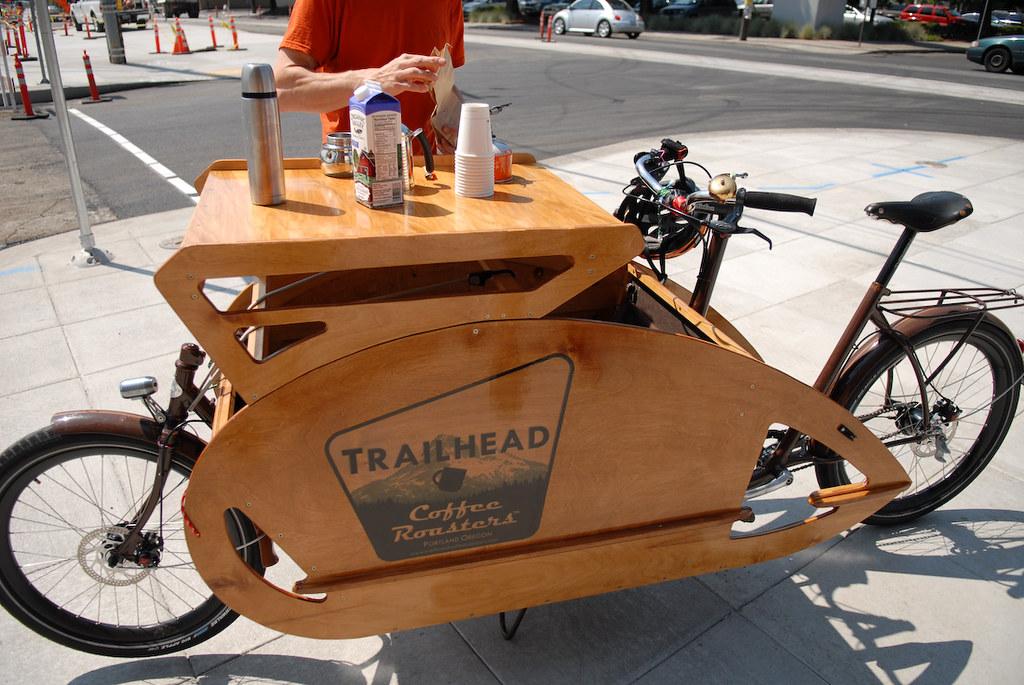 Trailhead Coffee bike4  BikePortland  Flickr