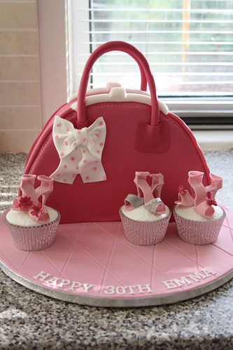 Handbag Cake Just A Quick Picture Before The Customer