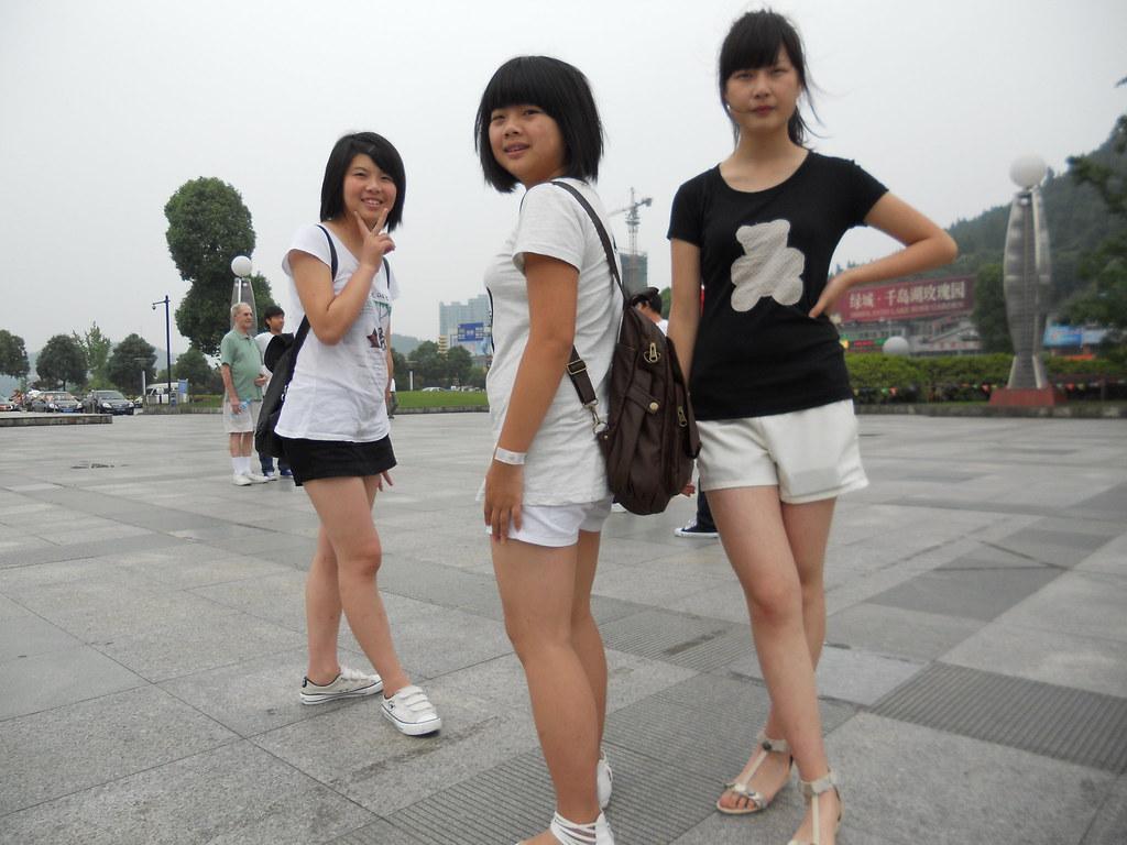 Chinese High School Girls