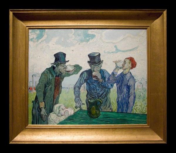 Van Gogh Chicago Art Institute Drinkers
