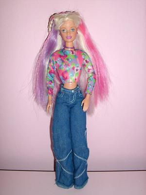 Happenin Hair Barbie Barbiewonderland Flickr