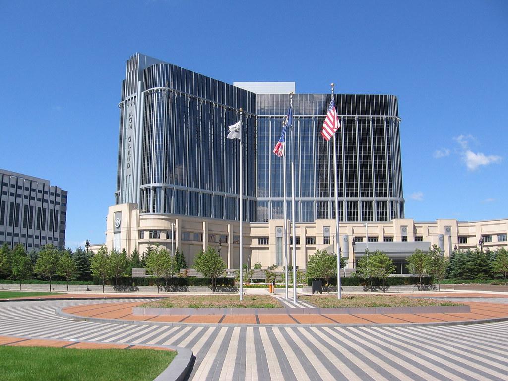 Detroit S Mgm Grand Casino Hotel Detroit Usa Detroit Ha Flickr
