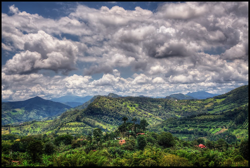 3d Wallpaper Clouds Sasaima Colombia View From From The Farm Of My Good