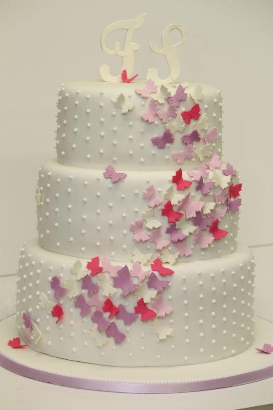 Hochzeitstorte Rosa Herz  Hochzeit