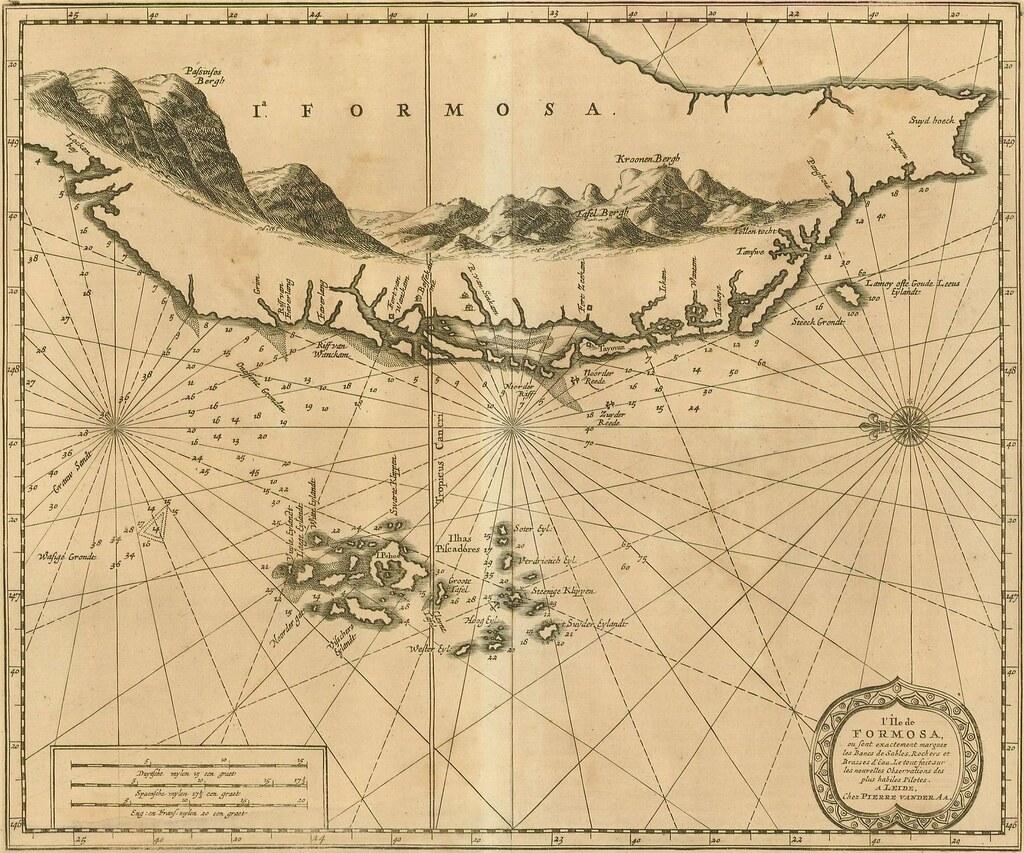 1727年 | 1590. 1727 年臺灣古地圖之臺南古地圖 | hycheng2 | Flickr