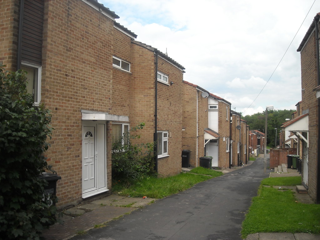 Row Of Council Houses Not Taken In Bramhall But Taken On