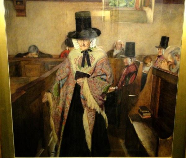 Salem Devil Painting