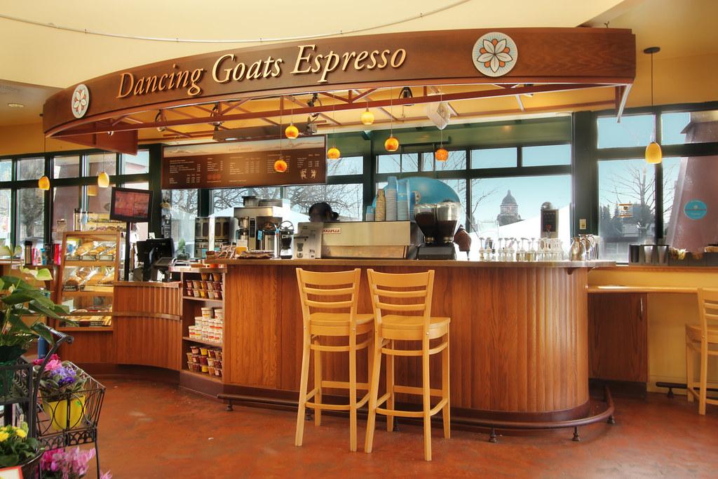 Espresso Stand Decor  Coffee Shop Upgrade  Grocery Espre  Flickr