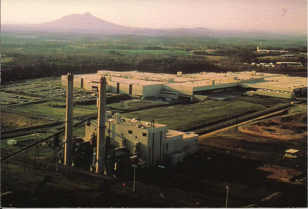 R J Reynolds Tobaccoville facility postcard  post card