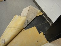 Asbestos Floor Tile & Mastic Under Carpet, Abatement | Flickr
