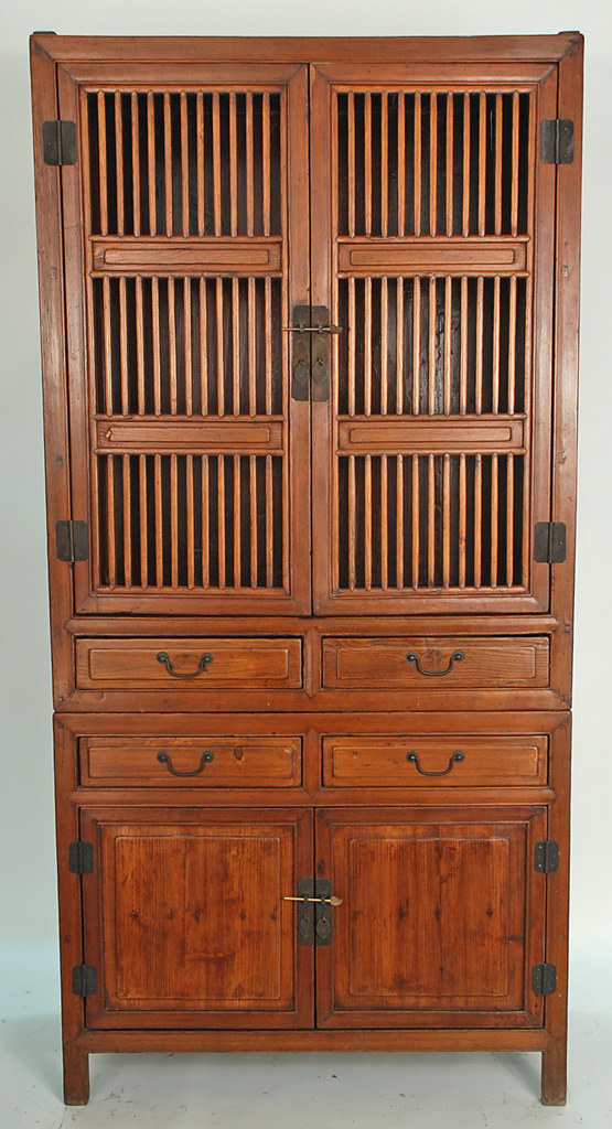 xs1004yasianantiquekitchencabinet  Antique Chinese