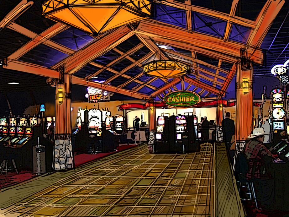 SKETCH DESIGN Cedar Room Decor  Soboba Casino  This is