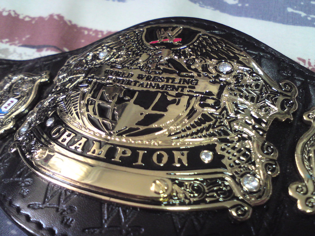 wwe undisputed heavyweight championship mini size replica flickr